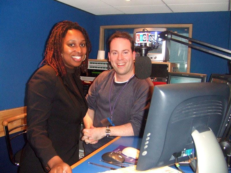 Richard Midson talking to Dawn Butler MP on LBC News 1152